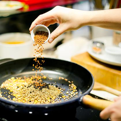 eine Currymischung