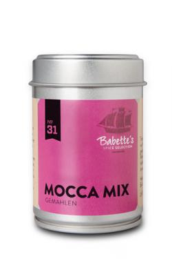 Mocca-Birnen Panna Cotta