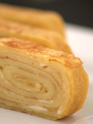 Tamagoyaki – japanisches Omelett mit Gomasio